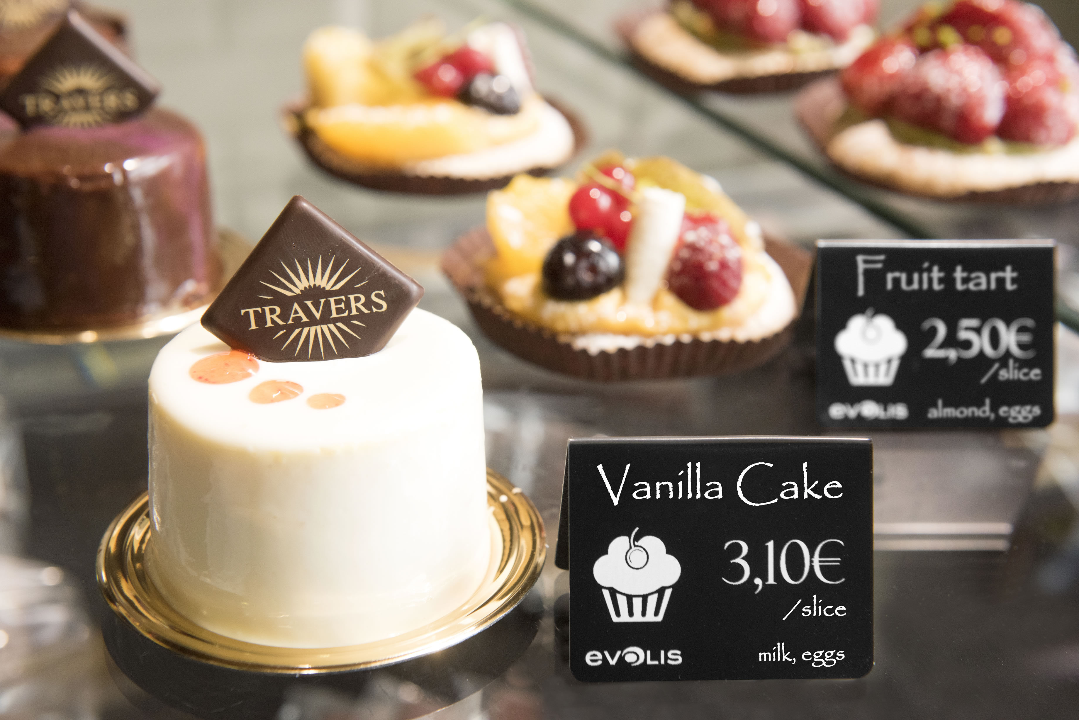 Patisserie price tags created by Edikio