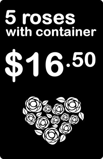 Price Tag Florist Roses